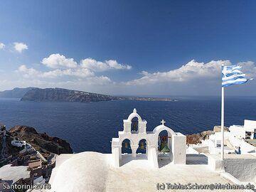 The most photographed chapel on Santorini. (Photo: Tobias Schorr)