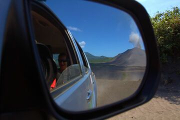 On the way to Yasur (Photo: Yashmin Chebli)