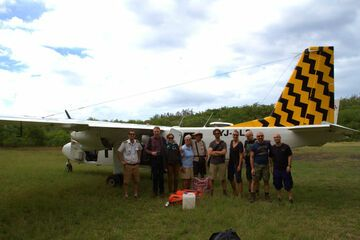 Charter plane to Ambrym (Photo: Yashmin Chebli)