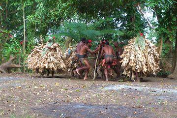 Traditional dance in a village (Photo: Yashmin Chebli)