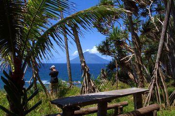View to Lopevi stratovolcano (Photo: Yashmin Chebli)