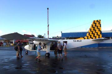 Charter plane (Photo: Yashmin Chebli)