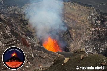 Benbow's inner crater with an active lava lake (Photo: Yashmin Chebli)