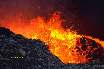 Benbow lava lake / Yashmin CHEBLI 2014 BENBOW072014_0651r.jpg (Photo: Yashmin Chebli)