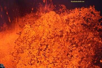 Benbow lava lake / Yashmin CHEBLI 2014 BENBOW092014_0706r.jpg (Photo: Yashmin Chebli)