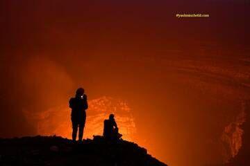Benbow lava lake / Yashmin CHEBLI 2014 BENBOW092014_1067r.jpg (Photo: Yashmin Chebli)