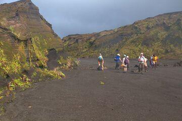 Inside the caldera of Ambrym volcano (Photo: Yashmin Chebli)
