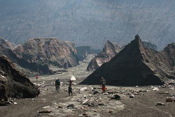 Inside the Ambrym caldera (Photo: Yashmin Chebli)