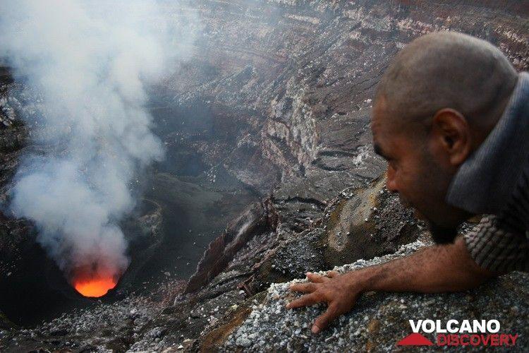 Observation de l'activité Benbow en septembre 2010 (Photo: Yashmin Chebli)