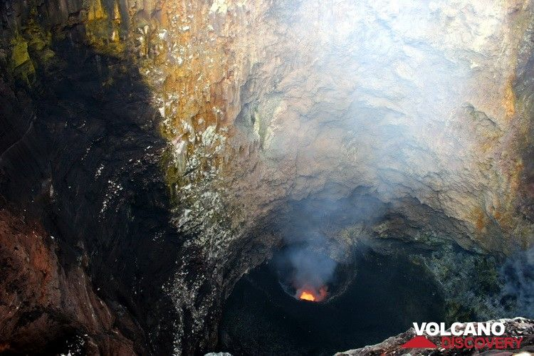 The deep second crater of Benbow (Photo: Yashmin Chebli)
