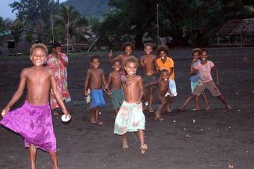 Village children coming to greet us (Photo: Yashmin Chebli)