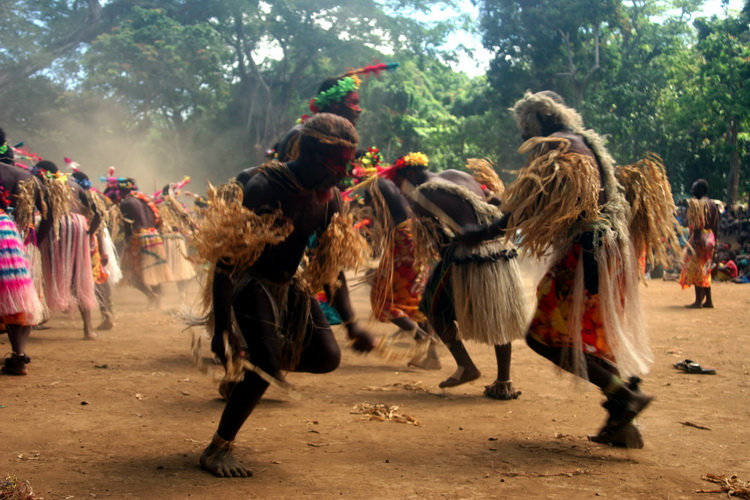 Traditional dance on Tanna Island (Vanuatu) (Photo: Yashmin Chebli)