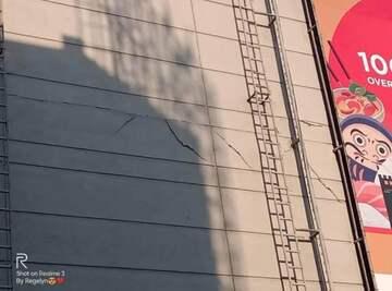 SM City Olongapo Wall Cracks (public domain)