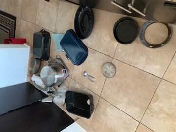 stuff fell to the floor (public domain)