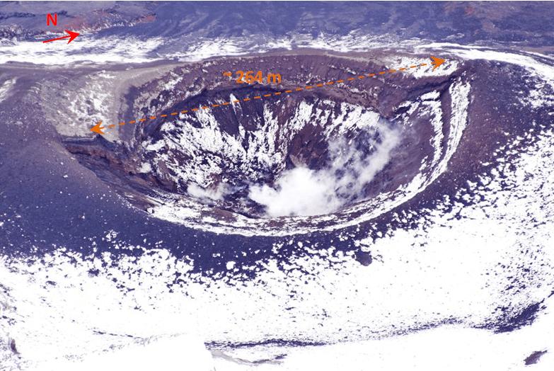 View of Tungurahua's inner crater (P. Ramón, IG-EPN)