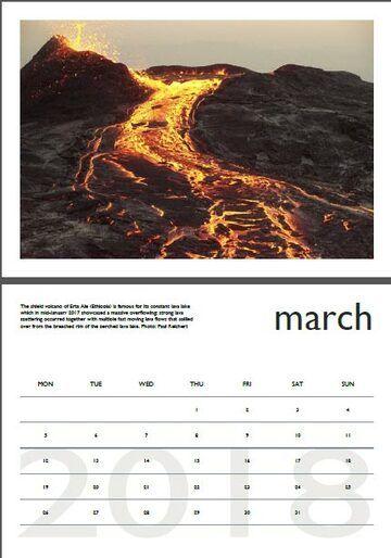 Vulkankalender - April