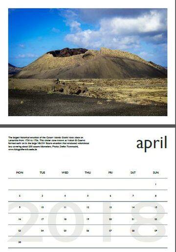 Vulkankalender - Juli