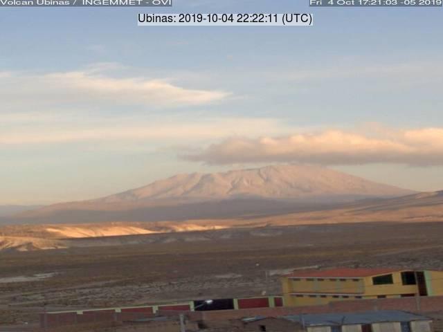 Volcano Ubinas (image: IGP)