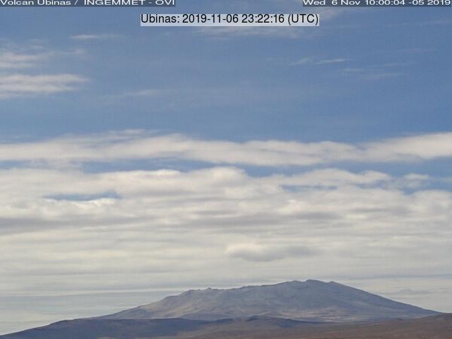 Ubinas volcano (image: INGEMMET)