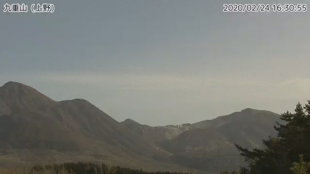 Aso volcano today (image: JMA)