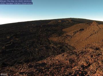 Southwest Rift Zone at Mauna Loa volcano (image: HVO)