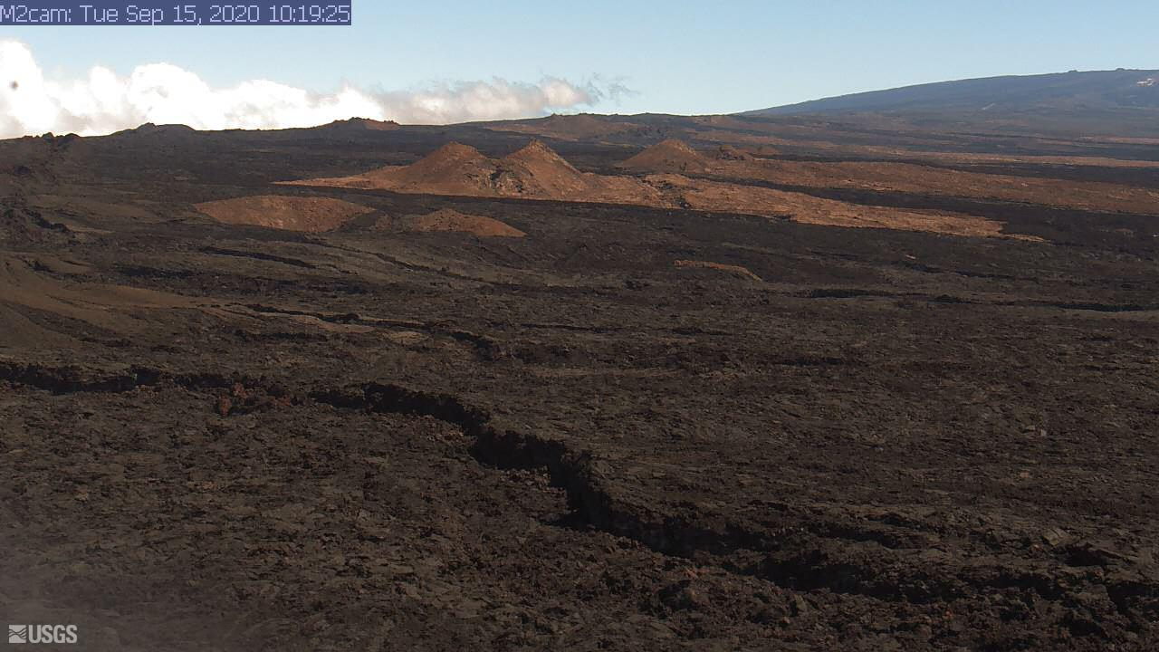 Middle part of the volcano´s Southwest Rift Zone (image: HVO)