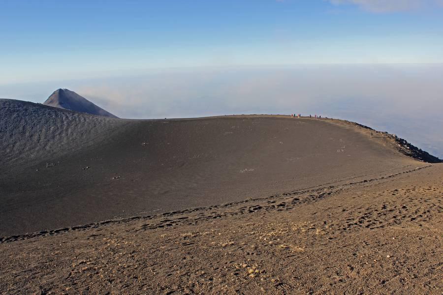 3. Crater Of Volcan Acatenango  3993m, Guatemala.