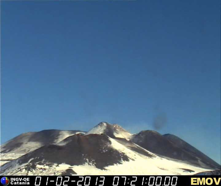 Etna this morning.