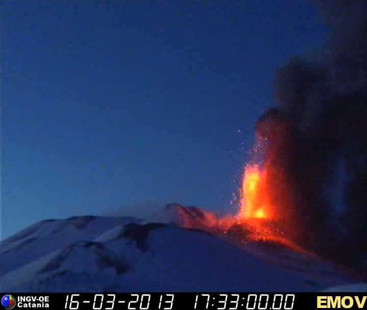 Lava fountains from Etna's New SE crater