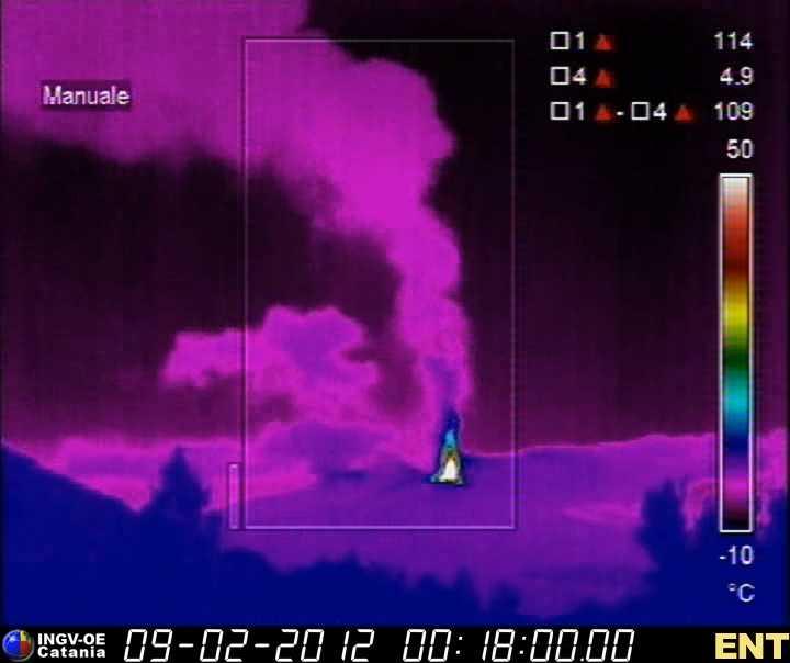 Eruption plume 01h18