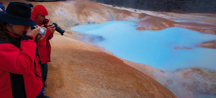 8.-25. Juli: Geo-und Fotoreise nach Island