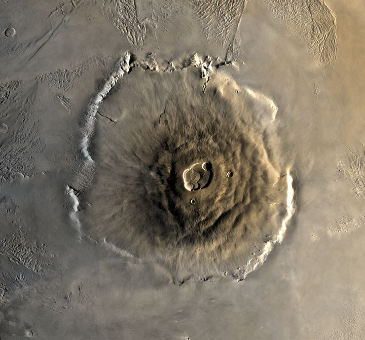 Digital elevation model of Mt. Olympus