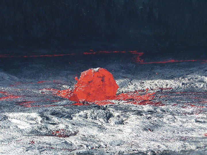 Erta Ale's active lava lake