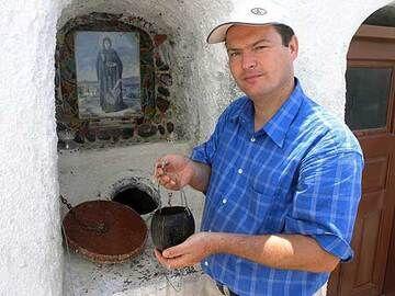 A cistern at a church