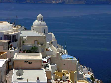 Fira, Santorini's capital