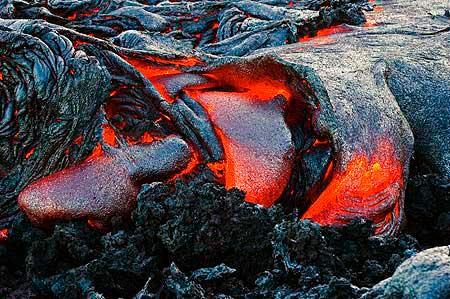 Active lava