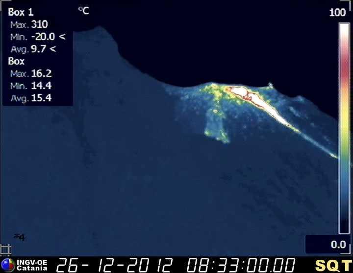Current ecent infrared webcam image