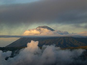 Semeru at sunrise