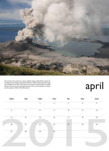 Vulkankalender 2014 - Juli