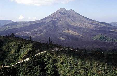 Batur volcano, Bali