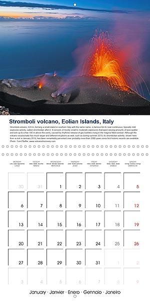 Vulkankalender - Cover