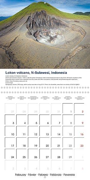 Vulkankalender - Januar
