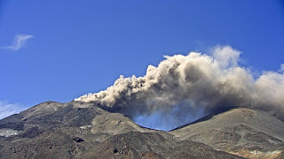 Ash emission at Nevados de Chillán on 7 March 2017