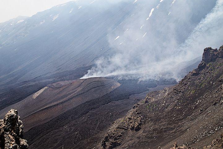 The lava flow at Monte Simone