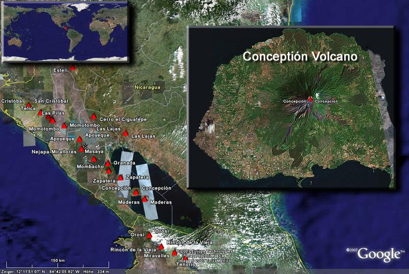 Conceptión satellite image (c) Google