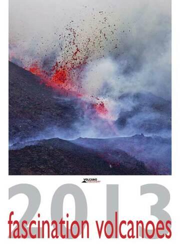 Volcano calendar 2013 - cover preview