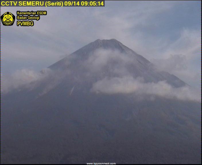 Semeru volcano (image: PVMBG)