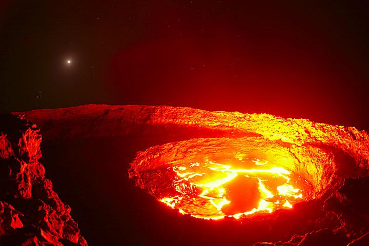 Nouvelle photos de l'Erta Ale, Ethiopie!
