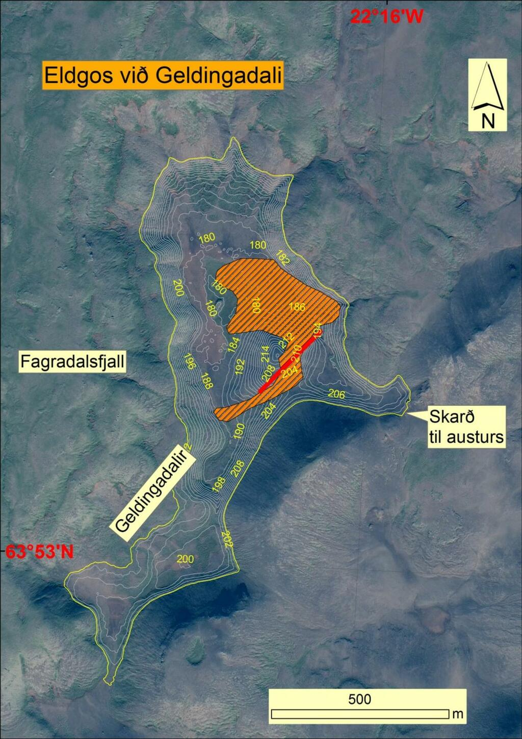 Map of the eruption so far (image: VolcanoCafe)