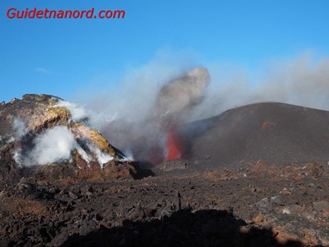 Strombolian activity from Etna's Voragine on Wednesday